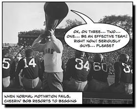 Ok, On Three... Two... One... Be an Effective Team! (curtesy of Stellman & Greene)