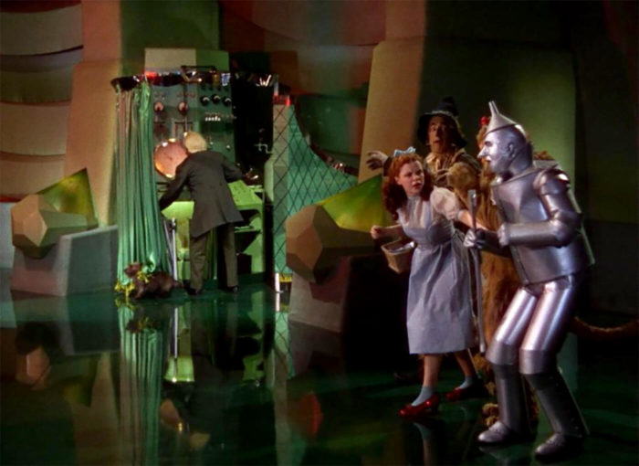 Wizard Of Oz Man Behind The Curtain